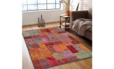Je Veux Home Brooklyn Halı 5121 Patchwork