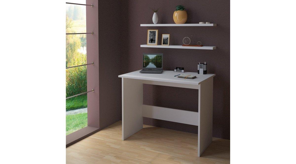 monza rafli ali ma masasi 90 7 parlak beyaz vivense. Black Bedroom Furniture Sets. Home Design Ideas