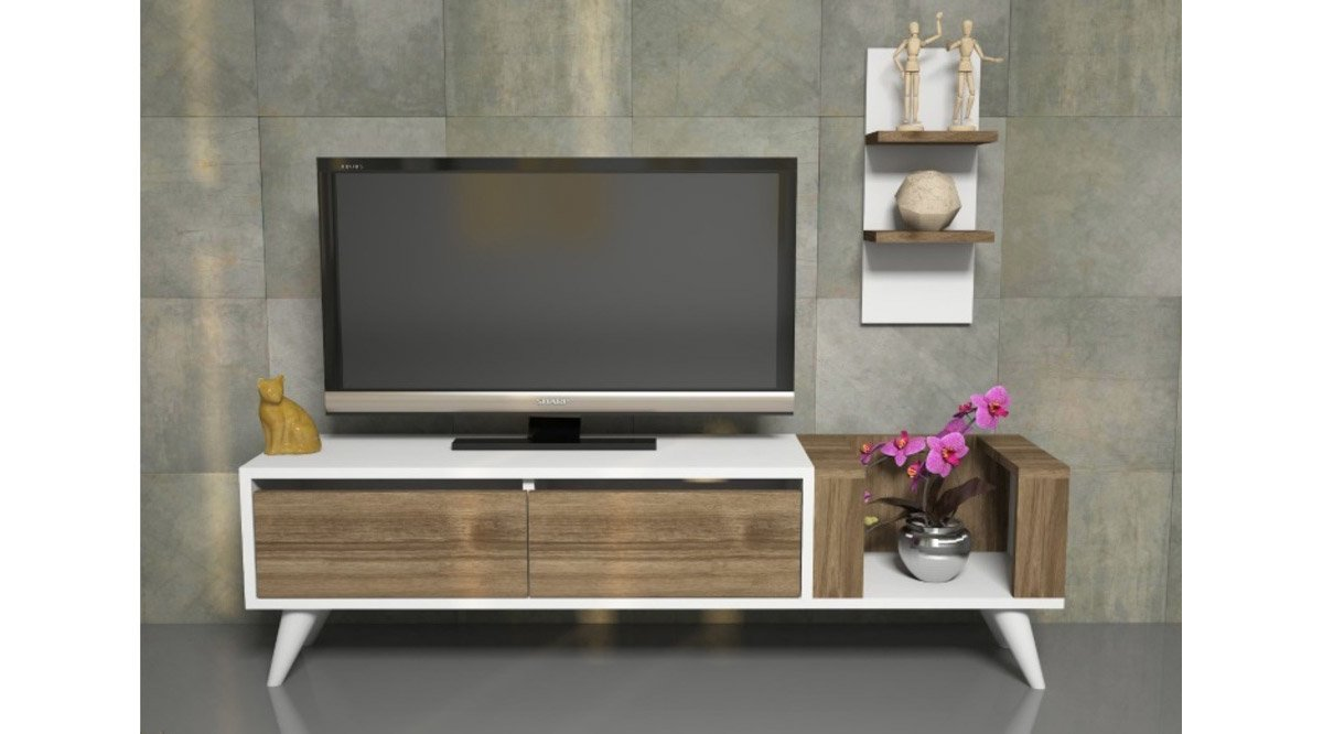 pers tv n tes 130 cm vivense. Black Bedroom Furniture Sets. Home Design Ideas