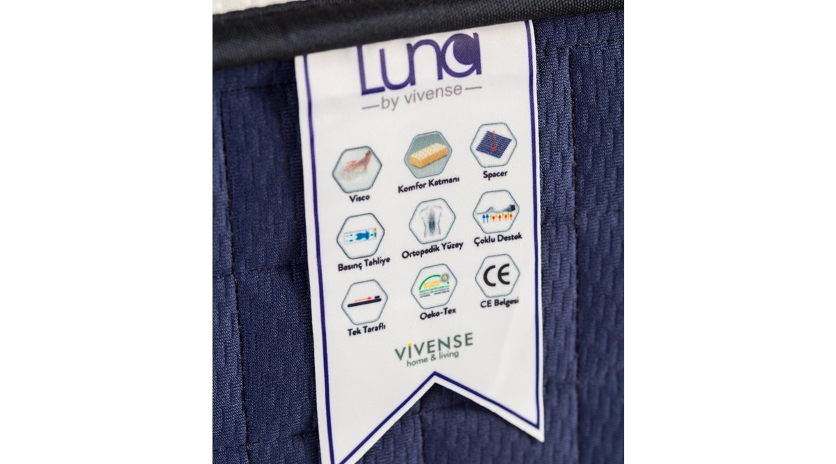 LUNA BY VİVENSE VİSCO YATAK 90x190